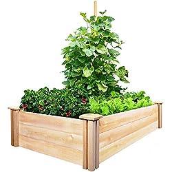 Greenes Fence Cedar Raised Garden Kit 2 Ft. X 4 Ft. X 10.5 in.