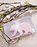 Walking Bear Silicone Mold for Soap, Candles, Chocolate, etc.