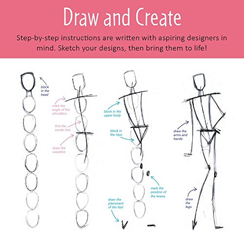 51XsXb4HJvL - Creativity for Kids Designed by You Fashion Studio, Fashion Design Kit For Kids
