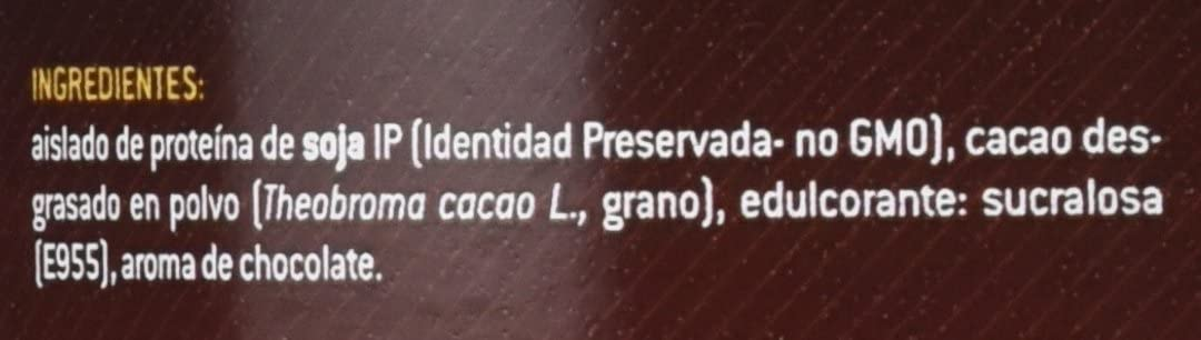 SOTYA Proteína Soja 100% Chocolate 1 kg