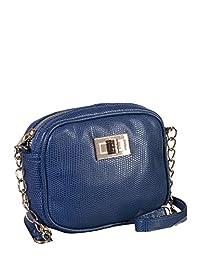 ELLE Small Shoulder Bag, Blue, Under Seat