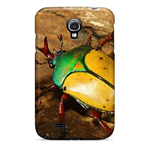 DGENDS Pretty Animals Colorful Beetle Case Cover Galaxy S4 Series High Quality Case