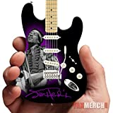 Jimi Hendrix Fender Stratocaster Tribute Miniature Guitar Model Collectible