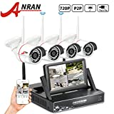 ANRAN 4CH 720P Wireless NVR with 7″ Monitor HD Wireless Security Camera System with 4pcs 720P WIFI HD Night vision Camera No Hard Drive Review