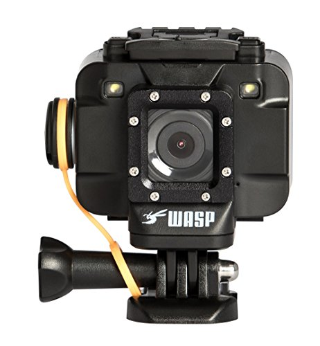 WASPcam 9905 Action Sports Camera Black