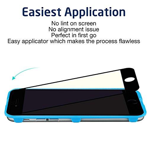 iPhone 6 6S Schutzfolie (4,7 Zoll) [mit Installation Werkzeug], ESR [Anti-blau Strahl] 3D Touch Tempered Glas Displayschutfolie Panzerglas Folie für iPhone 6 / 6S (Schwarz)