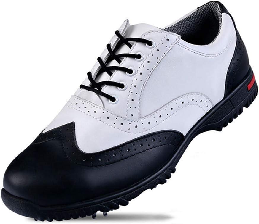 HJJGRASS PGM Zapatos de Golf para Hombre, Hombres Zapatillas de ...