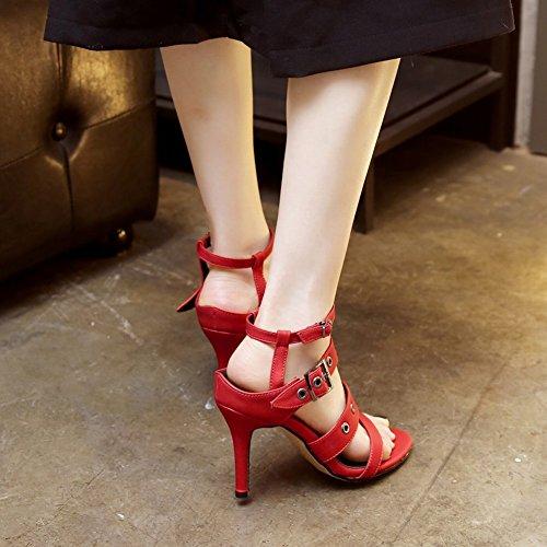 Sandali Con Cinturino Alla Caviglia Con Tacco Alto E Cinturino Alla Caviglia