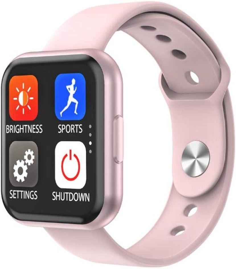NUNGBE Reloj Inteligente, Pulsera Inteligente táctil de Pantalla Completa para Mujer, Reloj Deportivo a Prueba de Agua, frecuencia cardíaca, Reloj de medición de presión Arterial