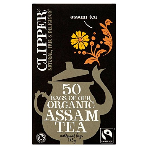 Clipper Fairtrade Organic Speciality Assam Tea Bags 50 per pack