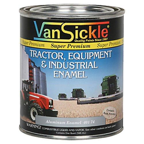 VAN SICKLE PAINT 40174 Aluminum Enamel Paint, 1 quart