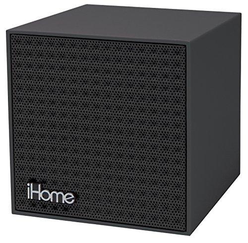 047532901368 - iHome Bluetooth Rechargeable Mini Speaker Cube - Black carousel main 0