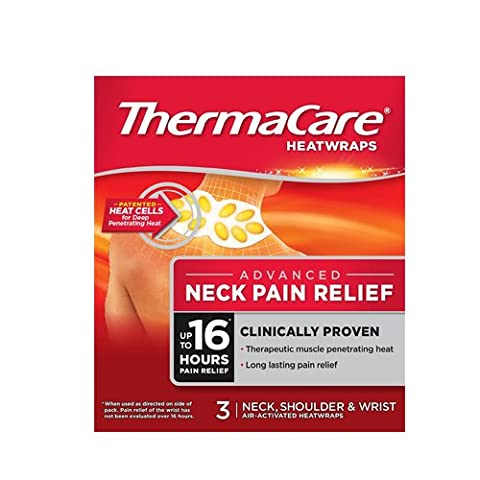 Thermacare Therapeutic Heat Wraps For Pain Relief