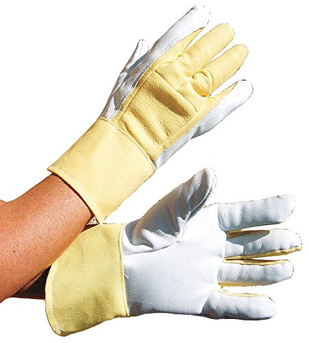 Anti-Vibration Gloves, Leather, XL, PR