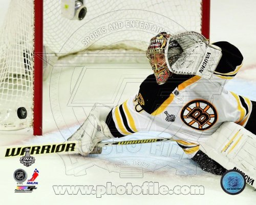 Tuukka Rask Boston Bruins 2013 Stanley Cup Finals Game 1 Photo 8x10