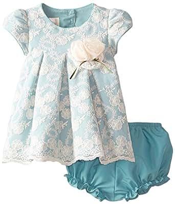 Amazon.com: Laura Ashley London Baby Girls' Newborn Green