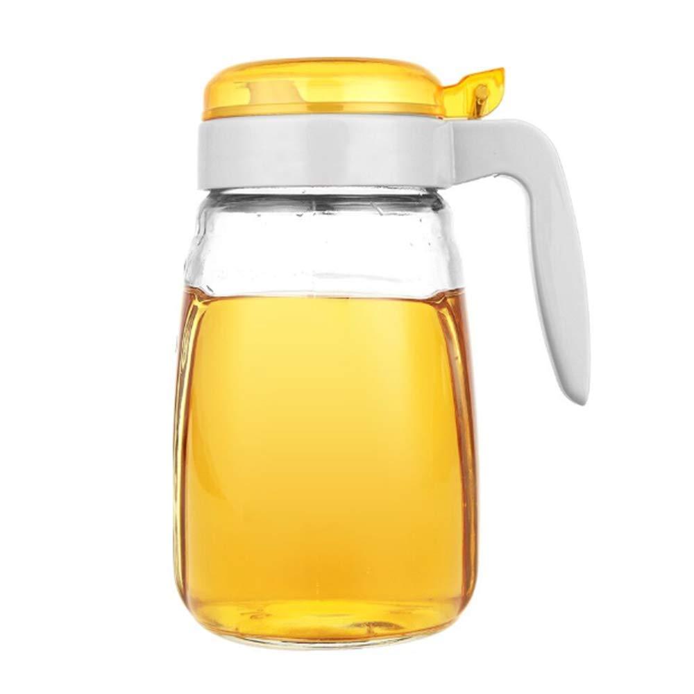 ZANFUTENOTA Olive Oil Dispenser Glass Oil Pot Quality Vinegar jar Soy Sauce Bottle with Automatic Cover 650 ml Leakproof Kitchen Oil Cruet by ZANFUTENOTA