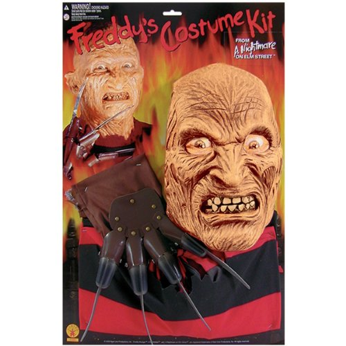 Costumes Freddy For Sale Krueger (Rubie's Costume Co Freddy Adult Blister Set)