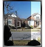 "Oi Max Solar Reflective Window Film One Way Mirror Insulation Stickers ,78.7""19.6"""