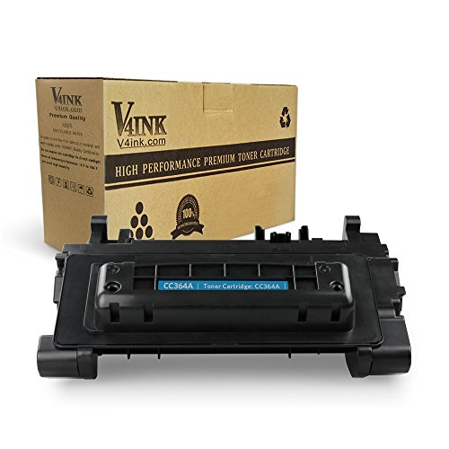 P4015 P4515 Series - V4INK 1 Pack New Replacement for HP CC364A 64A Toner Cartridge for use with HP LaserJet P4014 P4014n P4015 P4015n P4515 P4515tn P4515x Series Printer