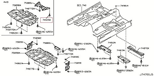 infiniti-genuine-bodyfront-roof-floor-floor-fitting-screw-01456-00691-qx70-fx-qx50-ex-q60-g-coupe-q6