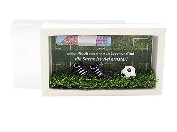 Zauberdeko Geldgeschenk Verpackung Geldverpackung Gutschein Fussball