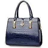 BagVenus Elegent Leather Multiple Shopper Inspired Tote Handbag(C1)