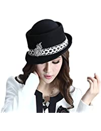 Wool Felt Hat with Pure Color Over The Edge of The Outdoor Shopping Trip · Dig  dog bone abe4667caff1