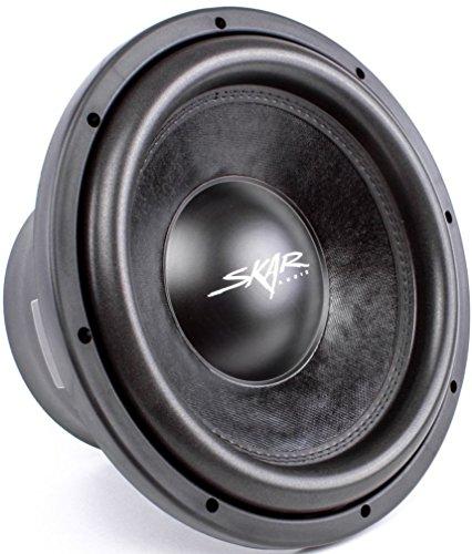 Skar Audio DDX-12 D4 1500 Watt Max Power Car Subwoofer, 4 (1500w Woofer)