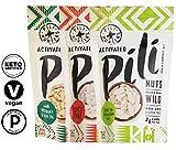Cheap Pili Hunters Pili Nut Variety Pack, Original, Rosemary, Spicy Chili, Keto, Paleo, Vegan, Low Carb, 1.85 oz. Bags – 3-Pack