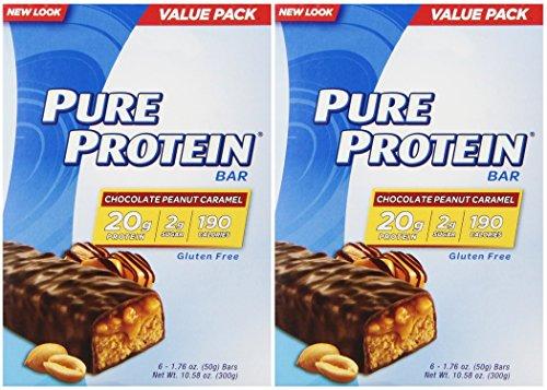 Pure Protein Choc Penut C Size 10.56 Pure Protein Choclate Peanut Carmel 50g Value Pack 10.56z
