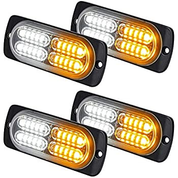 Back To Search Resultsautomobiles & Motorcycles Independent 4x 12 Led Car Truck Emergency Light Flash Strobe Brake Lamp Warning Beacon Amber At Any Cost