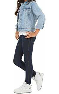 41fe2f27e500 Mädchen Thermo Leggings Stretch Leggins Hose Winter Herbst Jeans-Look  116-158