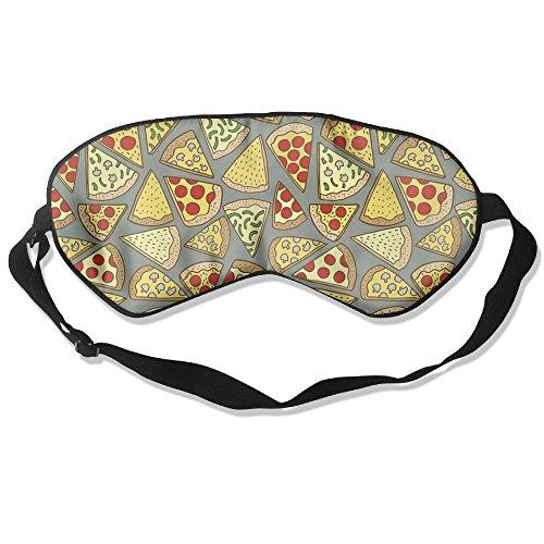 (Goods Shops Mulberry Silk Sleeping Masks Vegetables Pizza Eyepatch Eye Masks Adjustable Sleeping Eye)