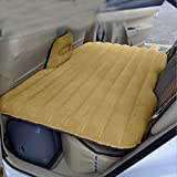 Car Mattress Travel Air Bed Inflatable Mattress Camping Universal with Air Pump,Two Pillows(SHIP FROM USA)