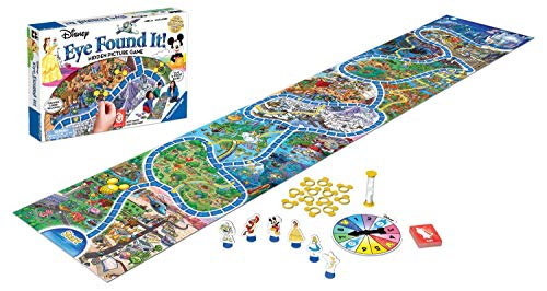 Ravensburger World of Disney Eye Found It Board Game for Boys and Girls Ages 4 and Up - A Fun Family Game You'll Want to Play Again and Again -