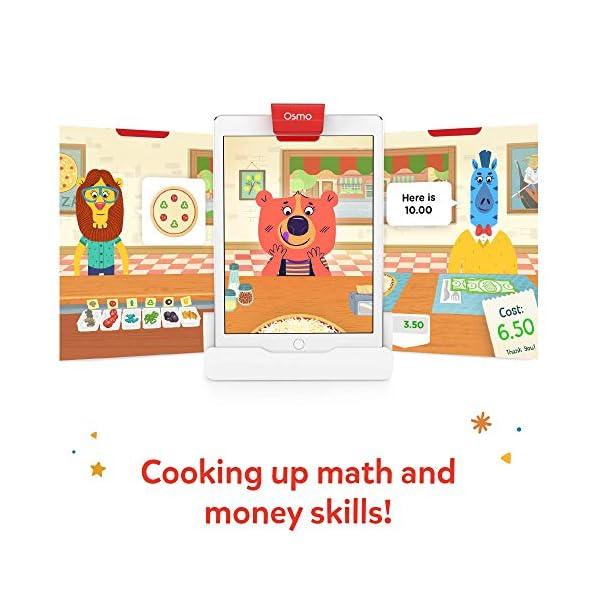 Osmo Pizza Co. Starter Kit – Abilità di Comunicazione e Matematica (Base iPad Inclusa), 901-00043 3 spesavip