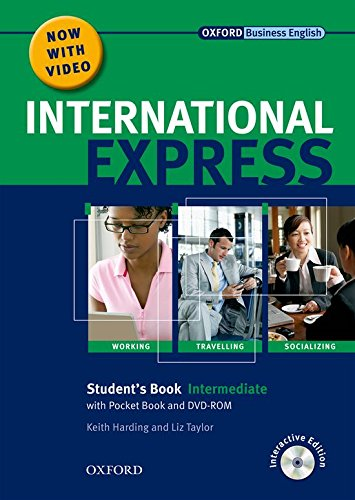 (International Express: Intermediate Student Pack: Student Book, Pocket Book, DVD-ROM)