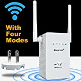 Motoraux sk-0051 Wireless-N Mini Wi-Fi Range Extender with Five Modes, White