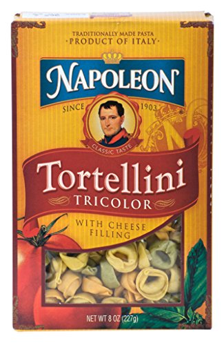 Napoleon Tortellini - Tricolor, 8-Ounce Boxes (Pack of 12)