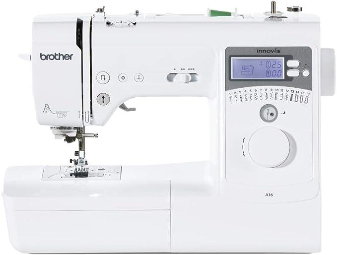 Brother Innov-is A16 máquina de coser (blanco): Amazon.es: Hogar