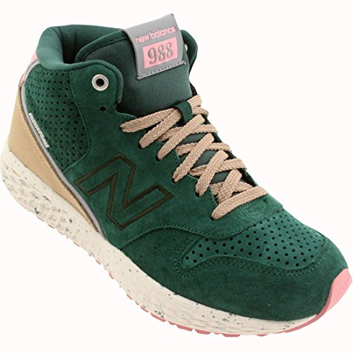 M Pink Mens Sneaker MH988 New Pink 13 Green D Balance Green xSgBnq8