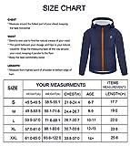 VEOBIKE Kids Teenager Windbreaker Jackets Quick Dry