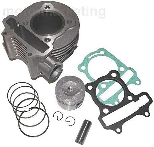 125cc BARREL PISTON KIT RING SET compatible with ZNEN ZN125T-E RETRO 125