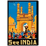 The Oliver Gal Artist Co. See India Canvas Art, 30'' x 45''