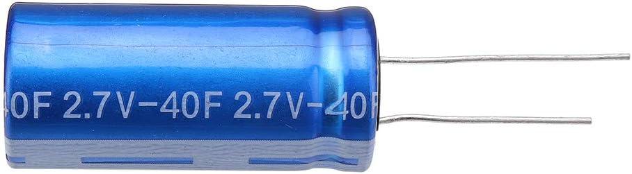 LaDicha 3 St/ücke Superkondensator 2,7 V 40F 40X18Mm Niedrigen Esr Hochfrequenz Super Farad Kondensator F/ür Auto Fahrzeug Auto Stromversorgung