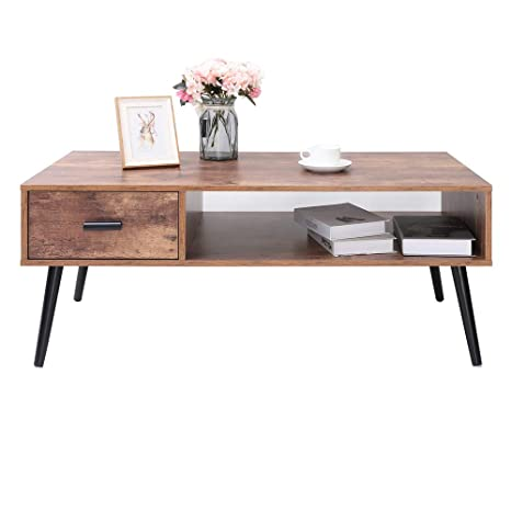 Long Coffee Table With Storage 3
