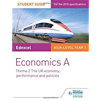 Edexcel Economics A Student Guide: Theme 2 The UK economy - performance and policies (Edexcel As Level)