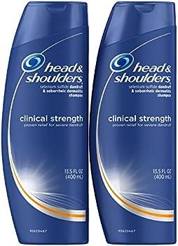 2-Pack Head and Shoulders Clinical Strength Shampoo 13.5 Fl Oz