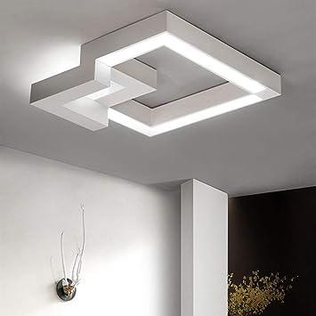 WOF Plafonnier LED dimmable télécommande, Changement de Couleur en ...